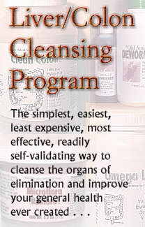 Alpha Omega Labs' Liver/Colon Cleansing Program