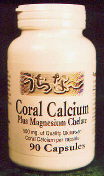 Coral Calcium - bottle