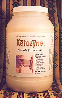 Ketozyne - Carob Flavored