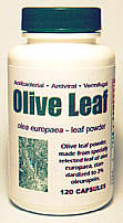 Olive Leaf Powder - bottle