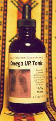 Omega UR, bottle