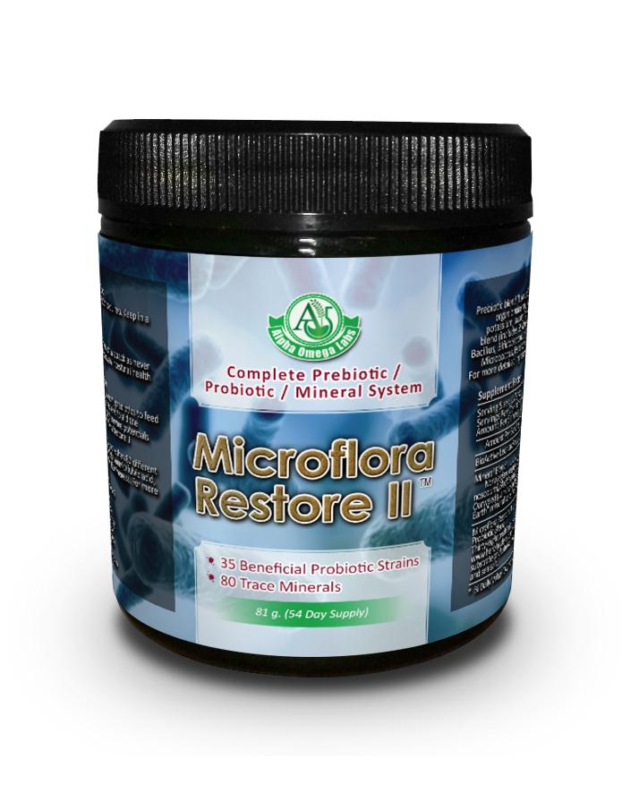 Microflora Restore II (tm) - 81 grams